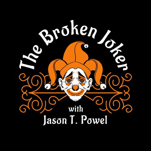 Podcast cover, The broken joker