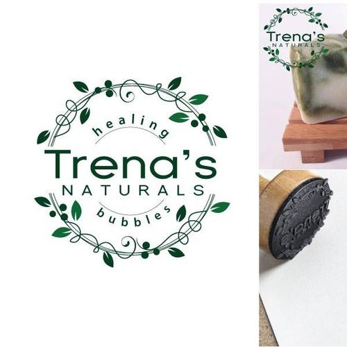 Logo for artisan, organic, all-natural vegan soaps, body butters & lip balms