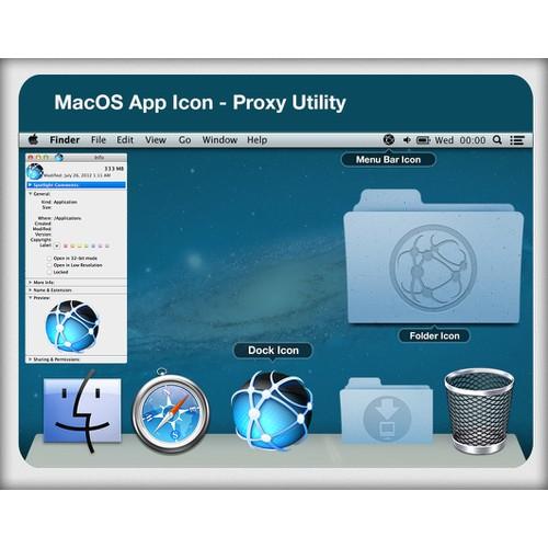 MacOS App Icon - Proxy Utility