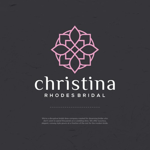 Logo for wedding dress company
