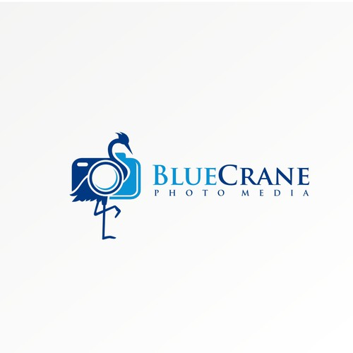 Logo for Blue Crane Photo Media