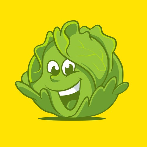 Laughing lettuce