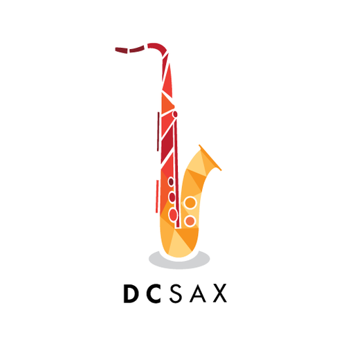 Logo concept for a Saxophone seller