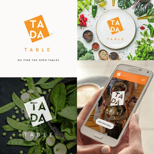 TADA Table app logo design
