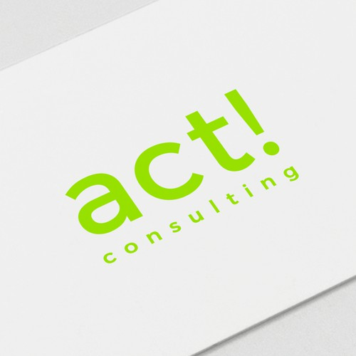 Act consulting - Logo design