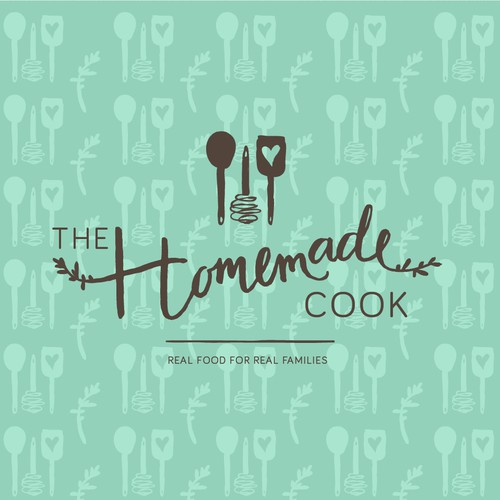 Handdrawn logo for a cook