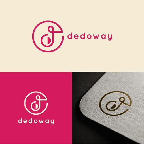 dedoway logo design
