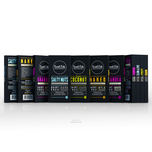SWEET EATS - CHOCOLATE BOXES DESIGN