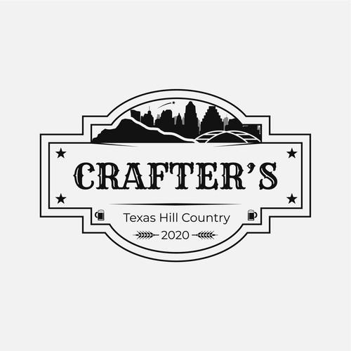 Logo design concept for a bar in Austin, Texas
