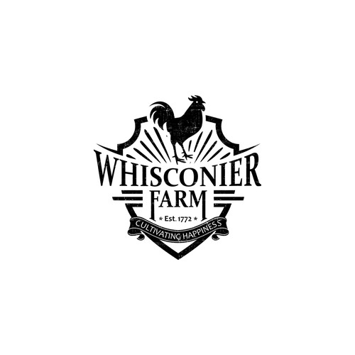 First logo for a 200 year old farm.