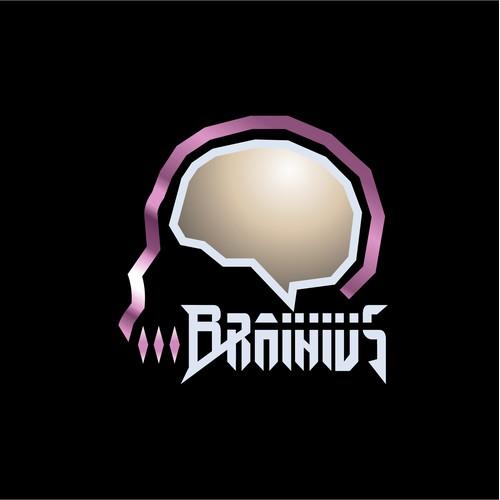 Aggressive logo for music producer