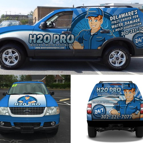 SUV WRAP DESIGN