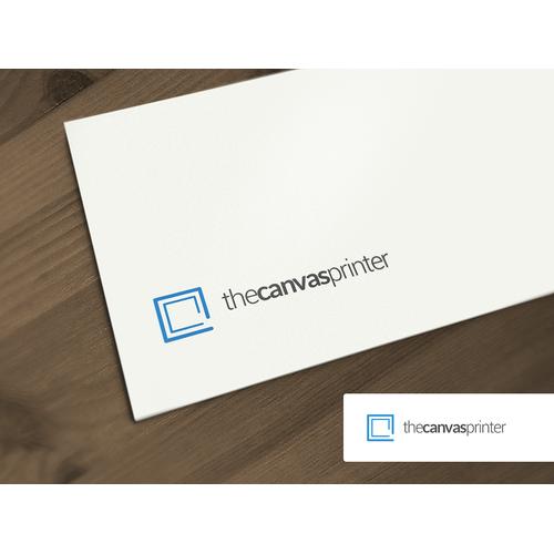 Logo for The Canvas Printer