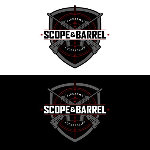 Logo design for Scope & Barrel