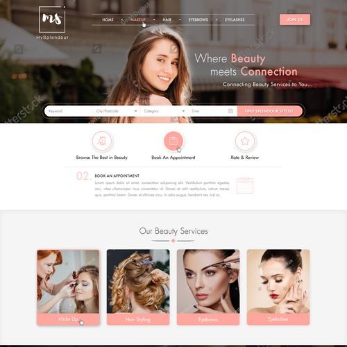 Premium Mackup Artist Web design