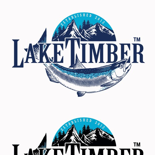 Lake Timber Logo Design