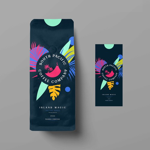 Package design for coffee