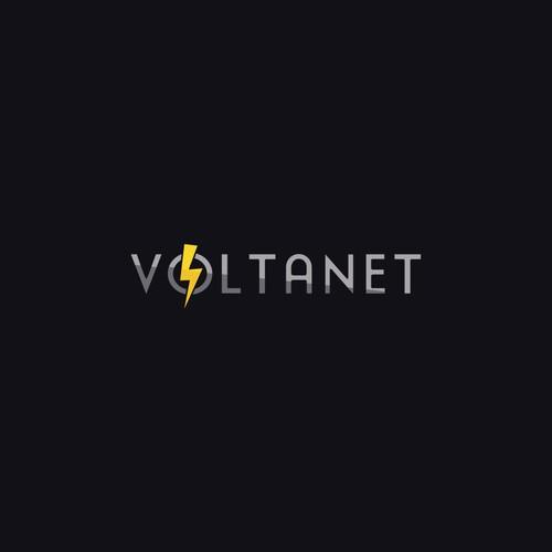 Logo/Web design for Voltanet.ch