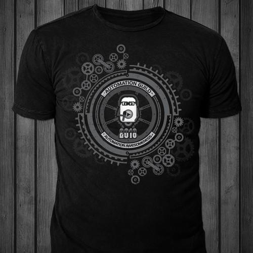 T-shirt design for Automation Guild 2018