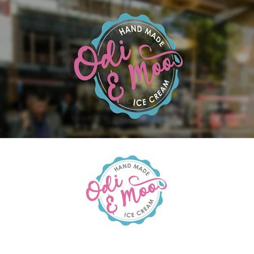 Odie & Moo Logo Design