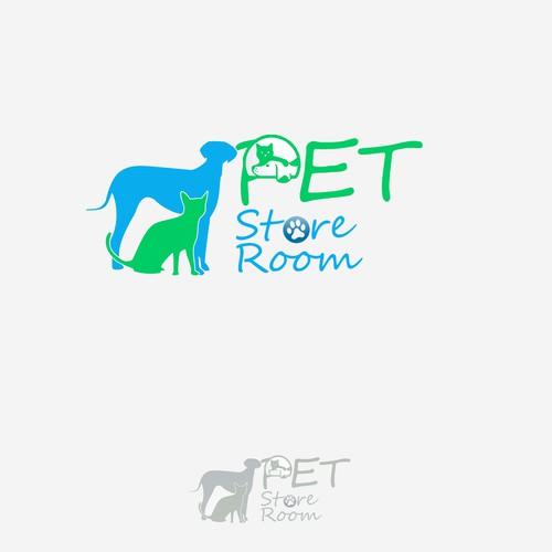 Create the next logo for Pet Storeroom