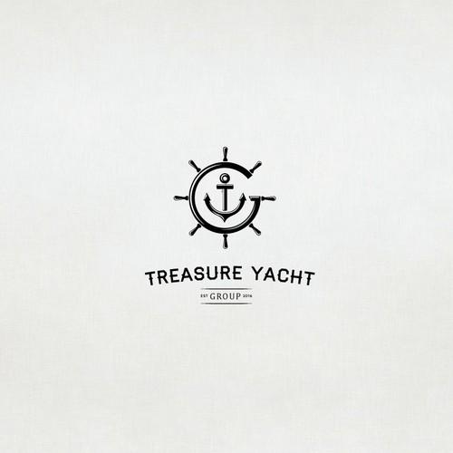 Logo design for a yacht club