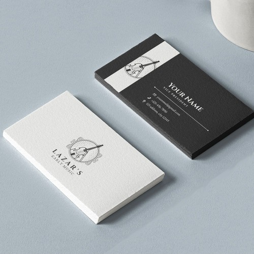 Logo and Business Card for Lazar's Early Music