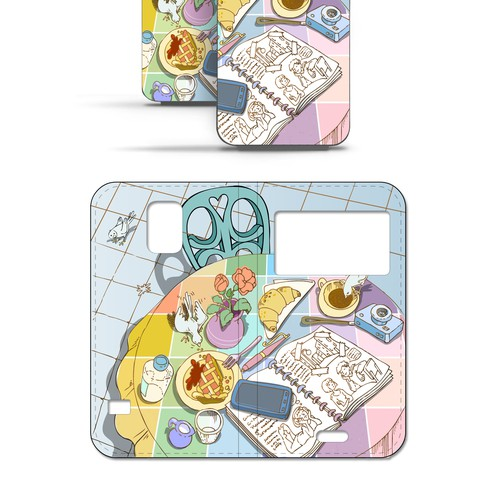 [Round 5] Create diary type Mobile phone cases! (Blinded / Guaranteed)