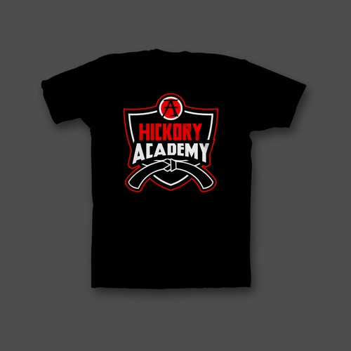 T-shirt Design For Karate and Martial Arts