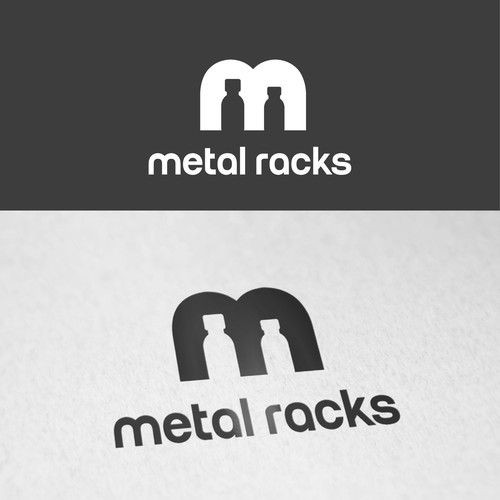 Logo concept for industrial production