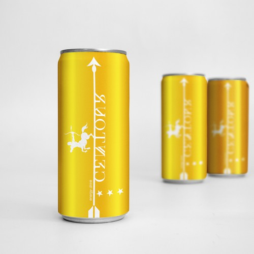 packaging design for energy drink