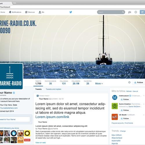Twitter marine-radio.co.uk