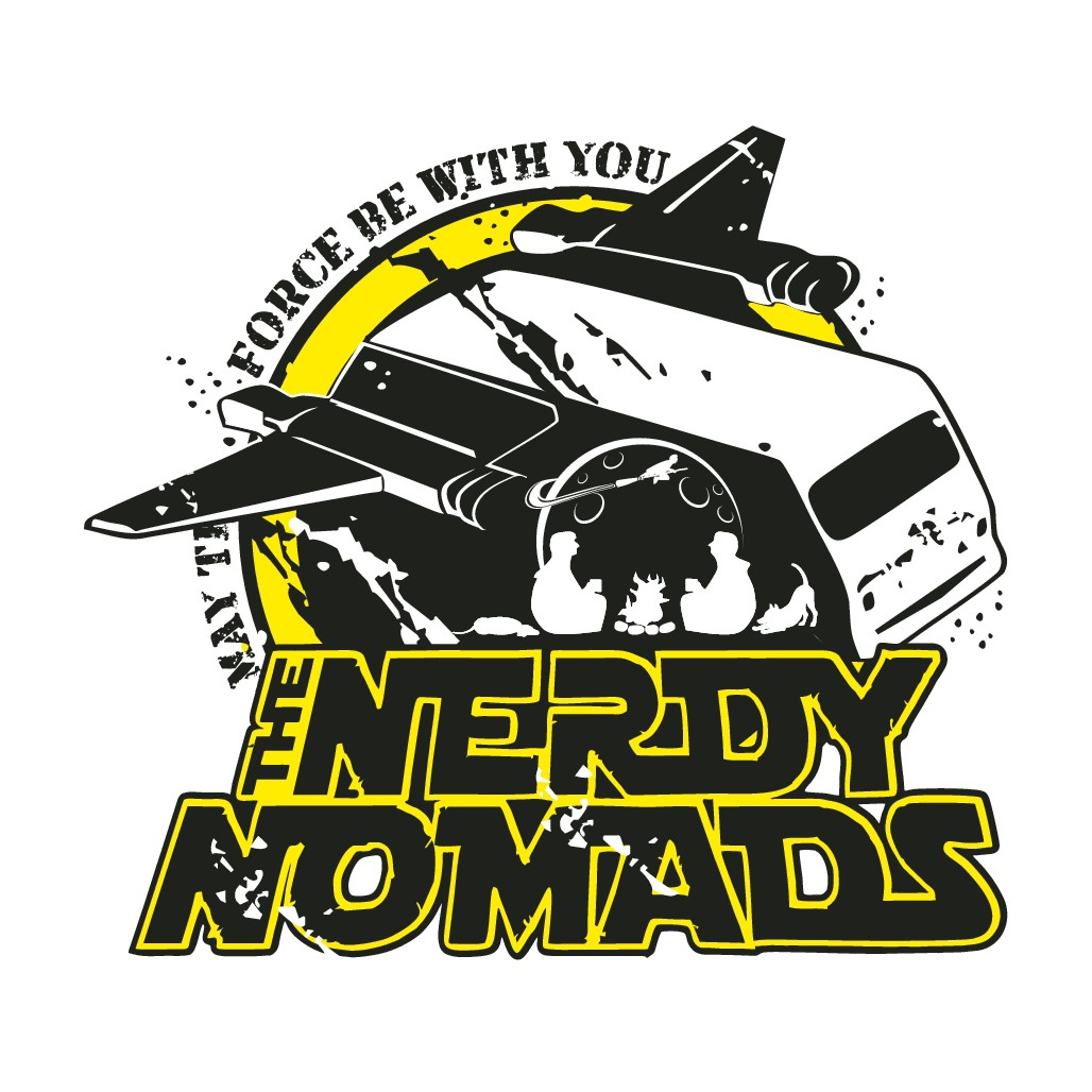 """Create a simple, yet fun logo for """"The Nerdy Nomads"""""""