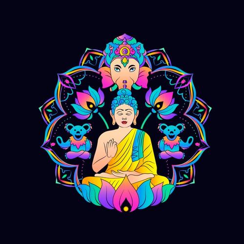 Psyhodelic Yoga Logo