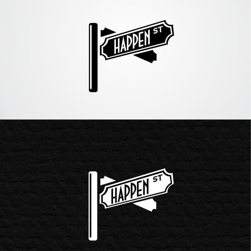 "Create a Modern Fun Design for ""Happen St."""