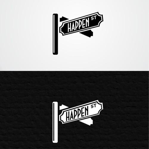 "Create a Modern Fun Design for ""Happen St."""