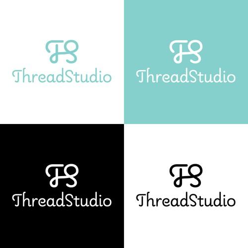 Logo concept for custom printing company