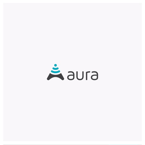 logo concept for aura
