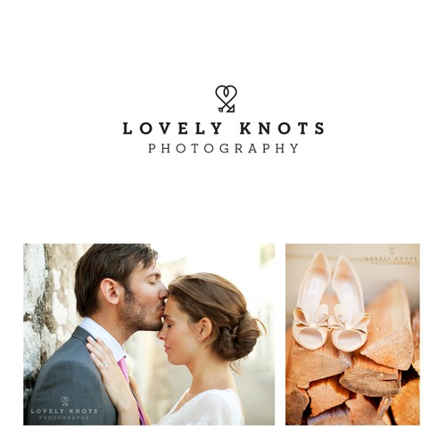 Show me your LOVE with a Wedding Photography Business logo!