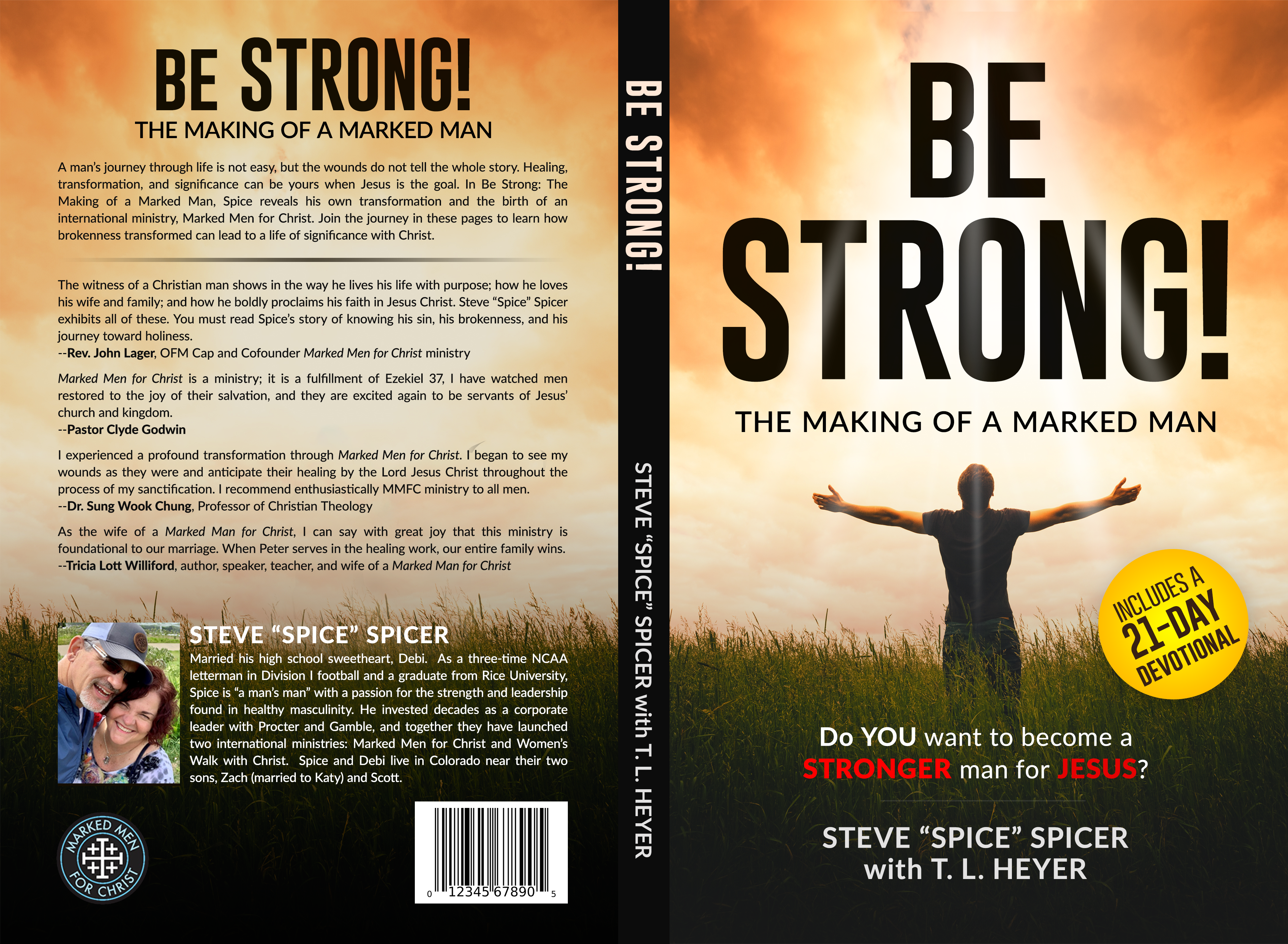 Be Strong--book for men
