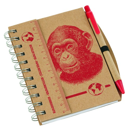 eco notebook illustration