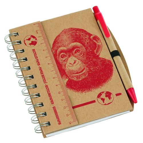 eco notebook illustration