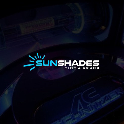 Sun Shades Tint & Sound Logo Design