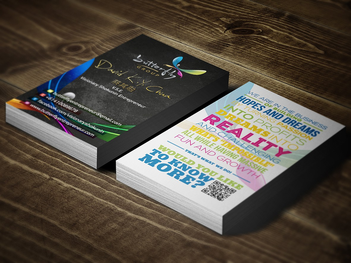 Amazing Artistic Personal Business Card Need For D.K.Y.C