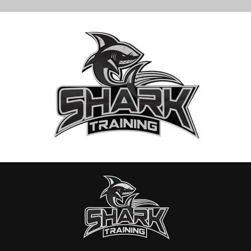 NEEDS a logo that demonstrates speed and strength for Shark Training