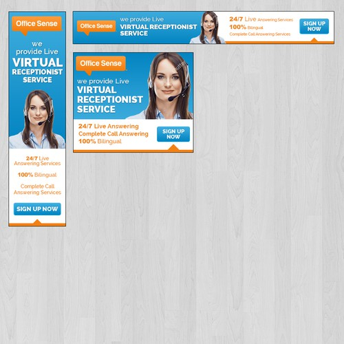 Ads for Virtual Receptionist Services