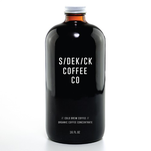 Logo design for Sidekick Coffee Co.