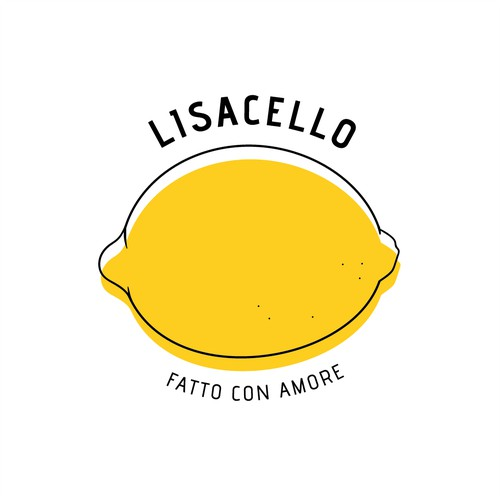 Logo + sticker design for Limoncello
