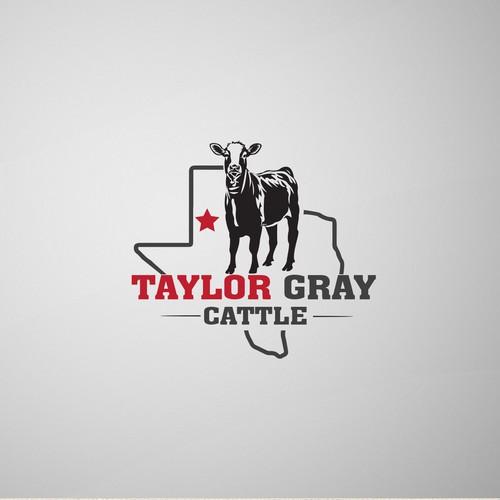 Texas cattle logo