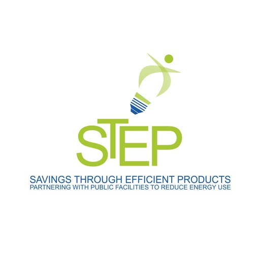 Create the next logo for STEP - Savings Through Efficient Products